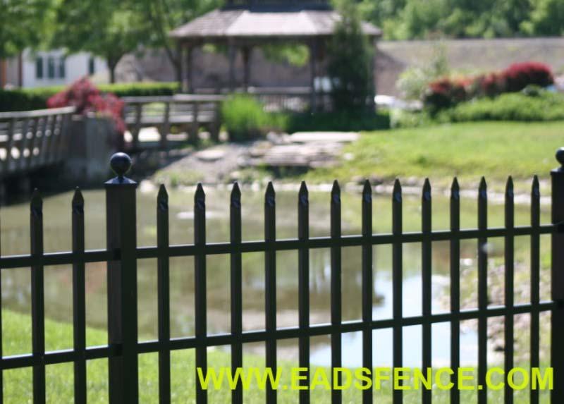 Ohio Fence Company Eads Fence Co Aluminum Fence Materials