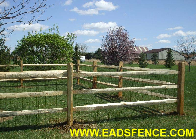 Show products in category Wood Split Rail Fences