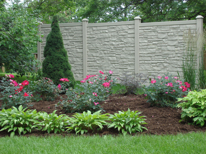 Show products in category Stone Look Fences