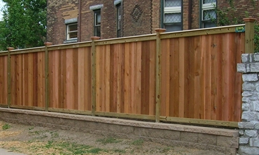 Ohio fence company eads fence co good neighbor privacy for Good neighbor fence plans