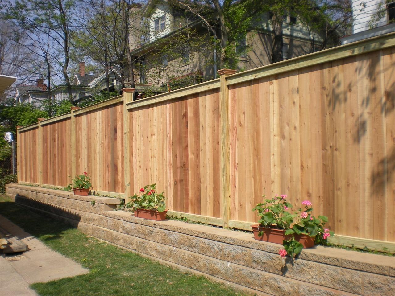 Ohio Fence Company Eads Fence Co Good Neighbor Privacy