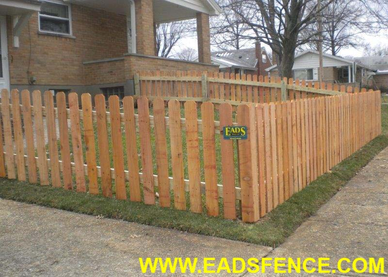 Ohio Fence Company Eads Fence Co Dog Ear Picket Photo