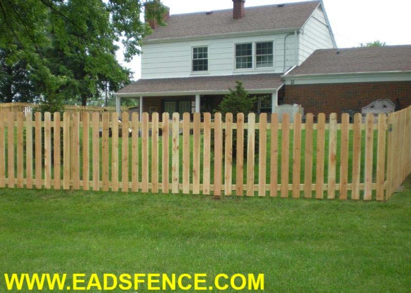 Ohio Fence Company Eads Fence Co Dog Ear Picket Photo