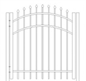 Picture of S1 Bennington Arched Walk Gate Drawing