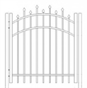 Picture of S2 Berkshire Arched Walk Gate Drawing