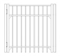 Picture of S4 Saybrook Walk Gate Drawing