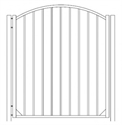 Picture of S10 Derby Arched Walk Gate Drawing