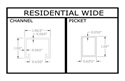 Picture for category Residential Grade Wide (SW)