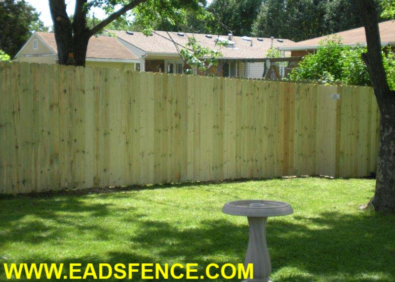Ohio Fence Company Eads Fence Co Dog Ear Privacy Photo