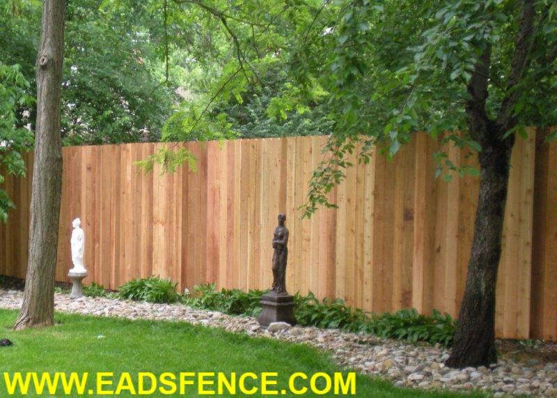Ohio Fence Company Eads Fence Co Dog Ear Privacy Photo