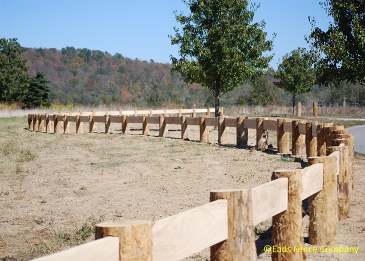 Ohio Fence Company Eads Fence Co Guardrails
