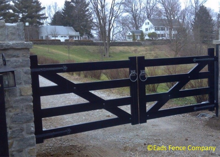Ohio Fence Company Eads Fence Co Entry Gates
