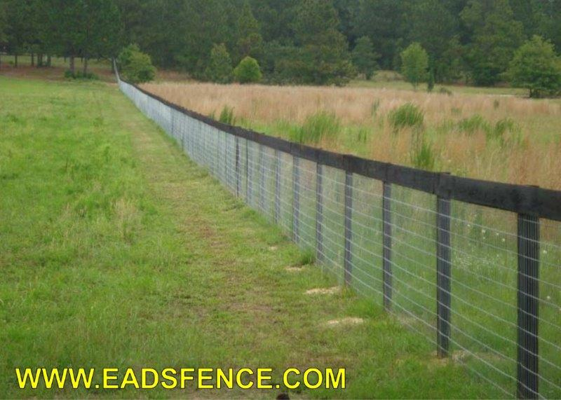 Ohio Fence Company Eads Fence Co 1 Rail Board Fence
