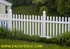 Picture of Vinyl Picket Fence Photo Gallery