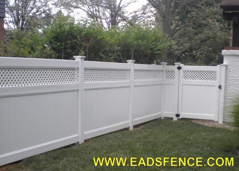 Ohio Fence Company Eads Fence Co Vinyl Privacy Gates