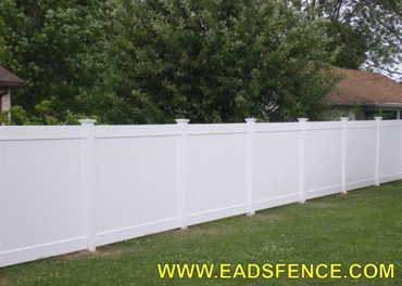 Picture of Vinyl Privacy Fence Photo Gallery