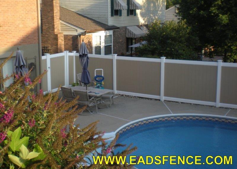 Ohio Fence Company Eads Fence Co Vinyl Privacy Fence