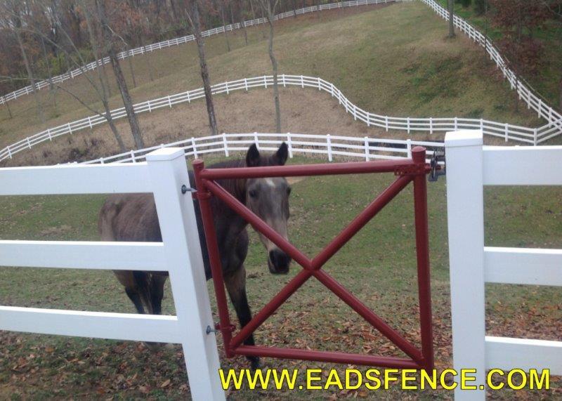 Ohio Fence Company Eads Fence Co Vinyl Ranch Rail