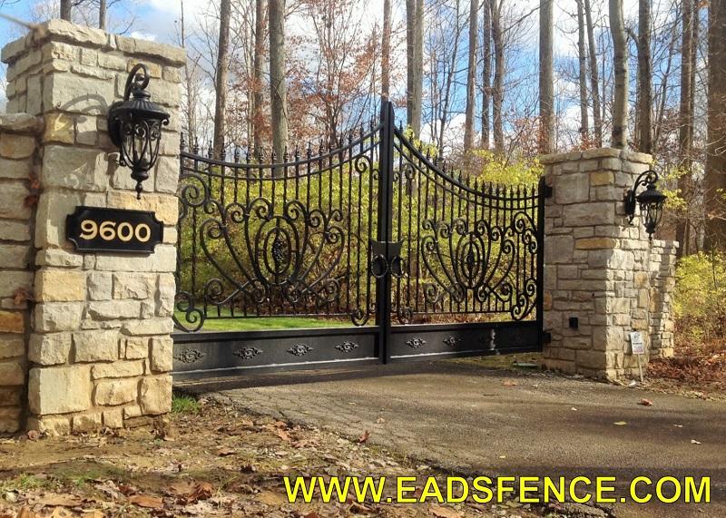 Ohio Fence Company Eads Fence Co Ornamental Metal
