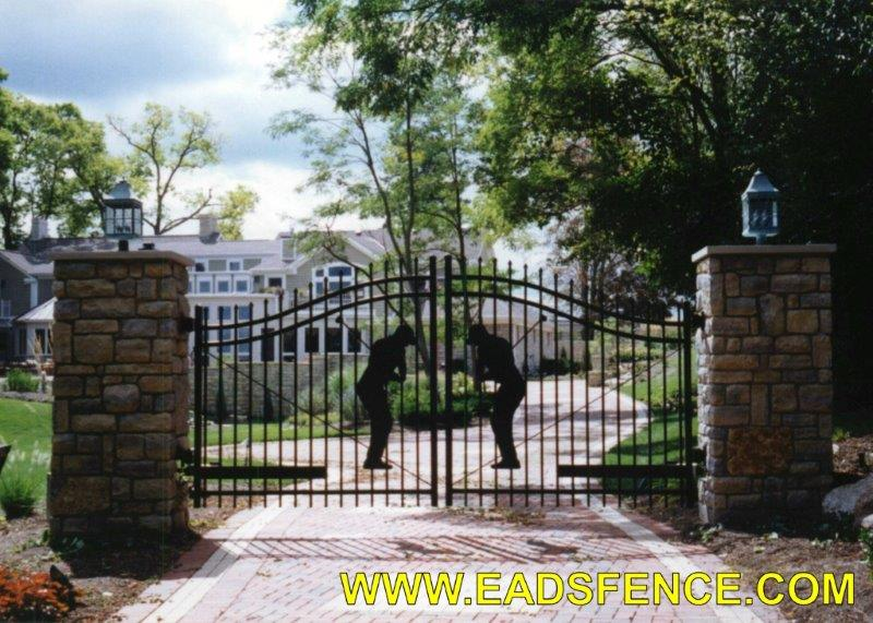 Ohio Fence Company Eads Fence Co Ornamental Metal